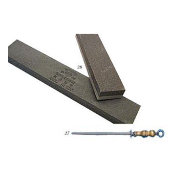 Sharpner Rod and Stone