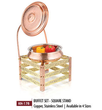 Buffet Set Square Stand